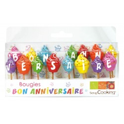 "15 Bougies ""Bon Anniversaire"""