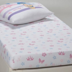 Drap Housse Princesse Disney 90x190 cm