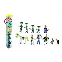 Tube Lucky Luke de 11 figurines