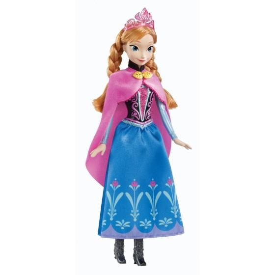 La Reine des Neiges - Anna Scintillante - Poupée Mattel