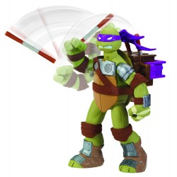 Tortues Ninja figurine Lance-Projectile 14 cm Donatello