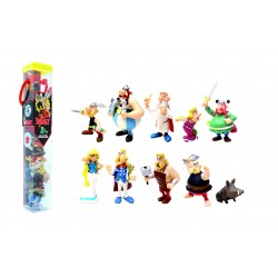 Tube Astérix  de 10 figurines