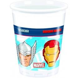 8 Gobelets anniversaire Avengers