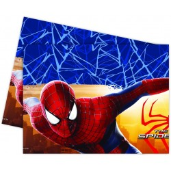 Nappe en plastique Spiderman 180 x 120 cm
