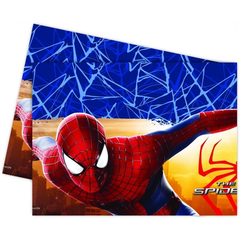Nappe plastique Spiderman