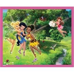 Puzzle 60 pièces fée Clochette et ses amis