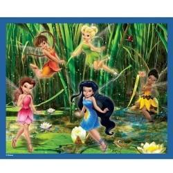 60 pièces Disney Fairies - MB Puzzles