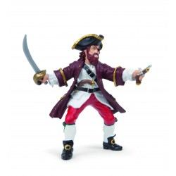 Figurine pirate Barberousse - Papo
