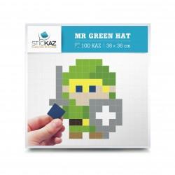 Minibox Mr Green Hat - Stickers muraux