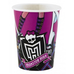 8 Gobelets carton Monster High