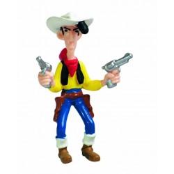 Figurine Lucky Luke avec ses pistolets