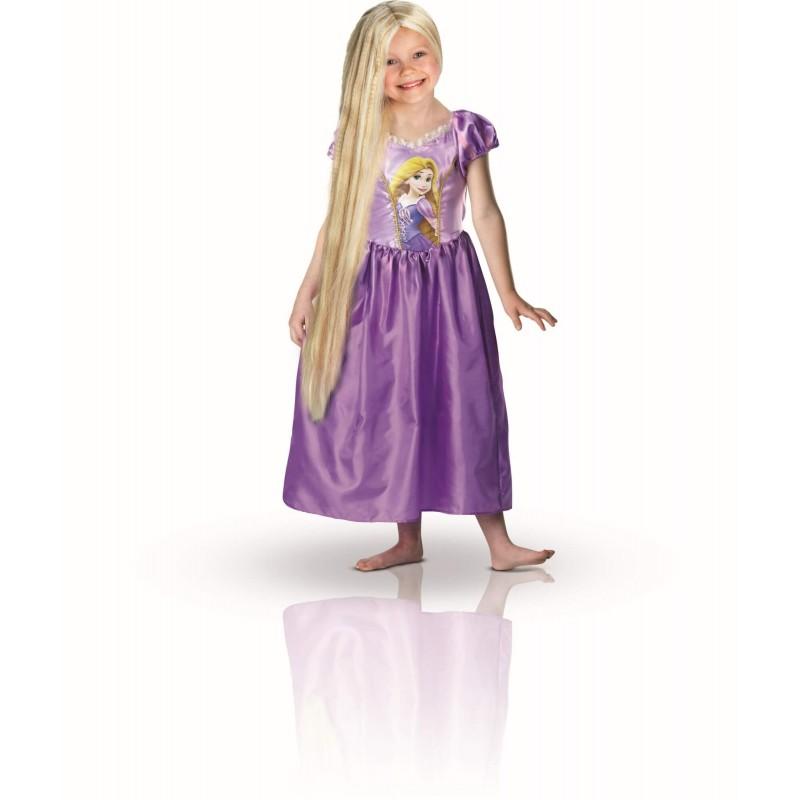 Déguisement Princesse Raiponce Taille 3-4 ans - Rubies