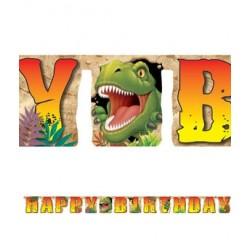 Guirlande anniversaire Jurassik World