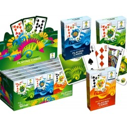 Jeu de cartes Collector Coupe du Monde de Football 2014