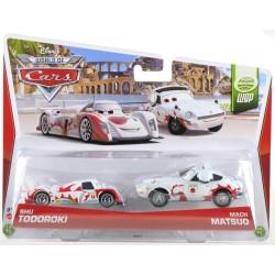 Coffret 2 voitures Cars - Shu Todoroki et Mach Matsuo - Mattel