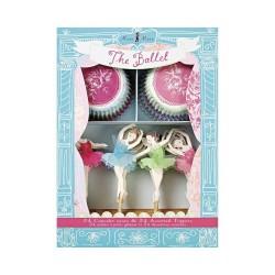 Kit à cupcakes danseuse étoile - Meri Meri