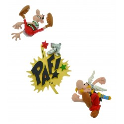 Set de 3 magnets Astérix