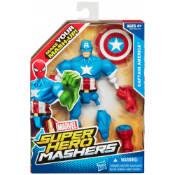 Captain America - Figurine Hero Mashers
