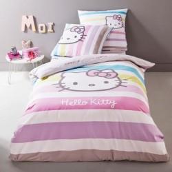 "Housse de couette Hello Kitty "" Ivana "" + Taie d'oreiller"