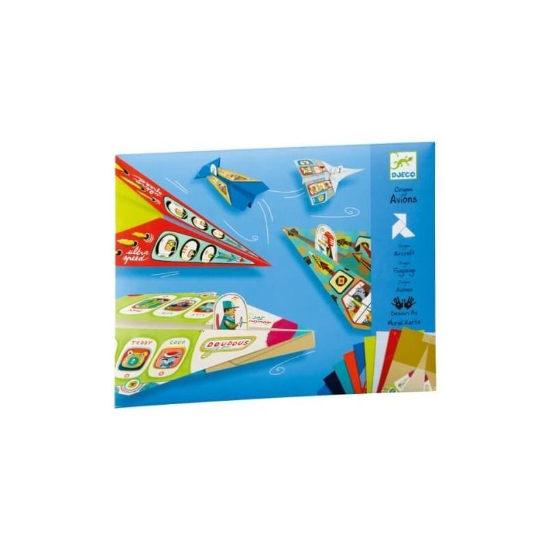 20 Origami Avions - Djeco