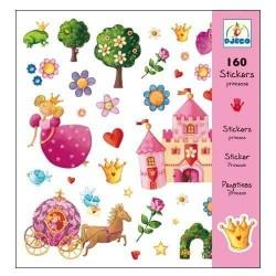 160 Stickers Princesse Marguerite - Djeco