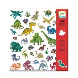 160 Stickers Dinosaures - Djeco