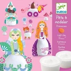 Pâte à modeler Djeco - Princesses