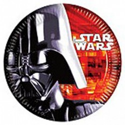 8 Assiettes Star Wars - Dark Vador