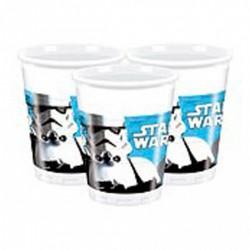8 gobelets Star Wars - StormTrooper