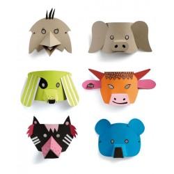 Mask'Animo - Fabrication de masque pour les enfants