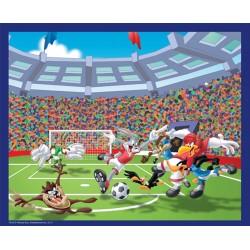 Puzzle Looney Tunes 60 pièces - Le match