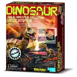 Déterre ton dinosaure Velociraptor - 4M