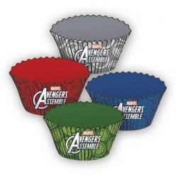 24 caissettes à cupcakes Avengers