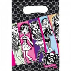 6 pochettes cadeaux Monster High