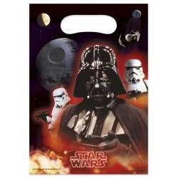 6 pochettes cadeaux Star Wars 8