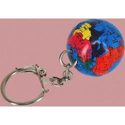 Porte-Clefs Globe Terrestre
