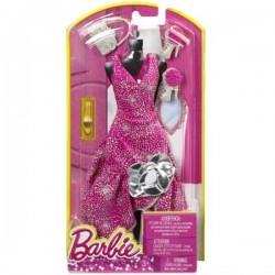 Robe de soirée rose et accessoires - Barbie