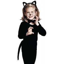 Kit  accessoires chat noir