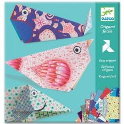 Origami facile Les grands animaux - Djeco