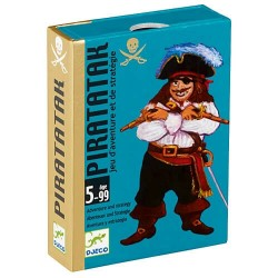 Piratatak - Jeu de cartes Djeco