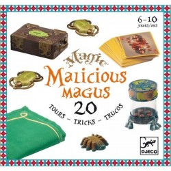 Magic Malicious Magus 6-10 ans - 20 tours de magie