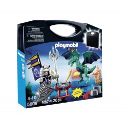 Playmobil - Valisette Chevalier Dragon
