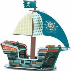 Bateau Pirate 3D - Djeco