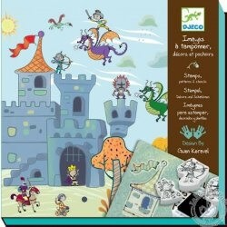 Histoires de chevaliers à créer - Tampons Djeco
