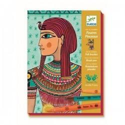 L'art egyptien - Feutres pinceaux