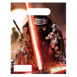 6 pochettes cadeaux Star Wars 7