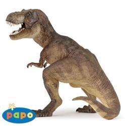 Figurine dinosaure Tyrannosaure marron