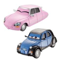 Nancy et John - Coffret 2 voitures Cars 2