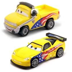John Lassetire et Jeff Gorvette - Coffret 2 voitures Cars 2