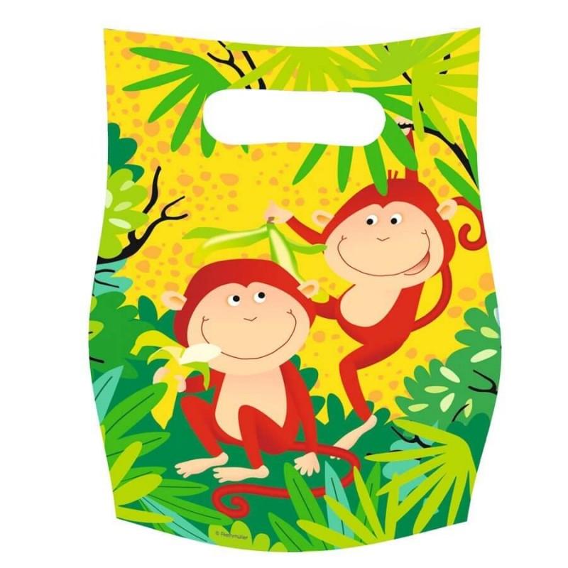 6 sacs cadeaux animaux safari pour l 39 anniversaire de votre enfant. Black Bedroom Furniture Sets. Home Design Ideas